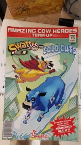cow comic book